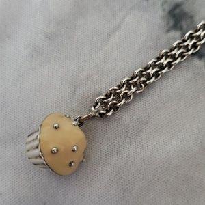 Tiffany's Cupcake Necklace